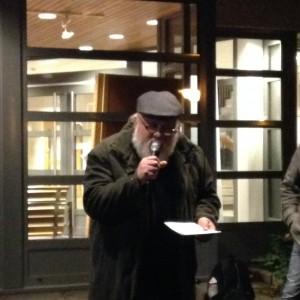 Håkan Wall talade för Vänsterpartiet.