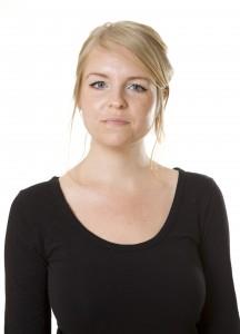 Sara Danielsson. Nummer 4 på listan till kommunfullmäktige.
