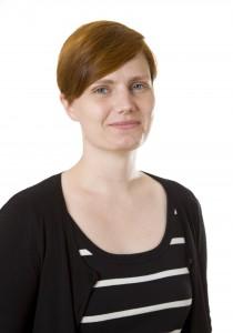 Hilda Dahlsten. Nummer 6 på listan till kommunfullmäktige.
